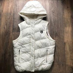 AEO Hooded Puffer Vest